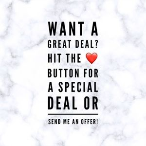 Hit like for a special deal!